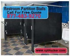 Commercial restroom partitions on pinterest restroom - Commercial bathroom stall hardware ...