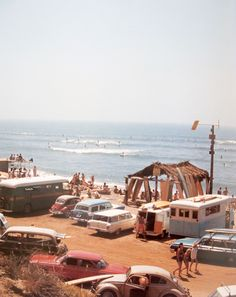 Southern California Surf Scene - 1964