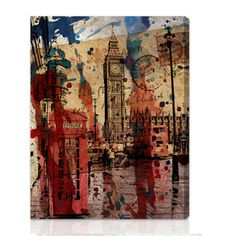 London In Red 14x18, $85, now featured on Fab.