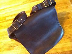 Vintage Coach 70s  Saddlebag Made in New York by ThePaintedSaddle, $65.00