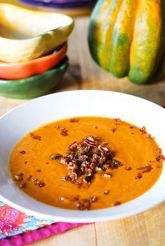 Easy pumpkin soup @Julia