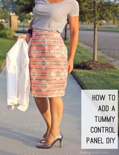 How to Add a Tummy Control Panel – DIY