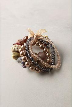 Twelve Crafts Till Christmas: anthro-inspired bracelet directions
