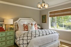 Contemporary Transitional Eclectic Guest Room / Office contemporary bedroom