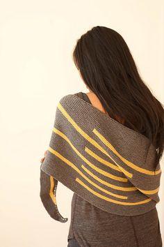 Ravelry: Iszara pattern by Melanie Berg...GORGEOUS knitting, birthdays, shawl patterns, iszara pattern, stone, graphics, knit shawl, stripes, birthday gifts
