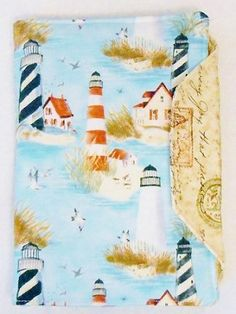 Lighthouses Seaside Ocean Shells Kindle, Nook, or IPAD Covers