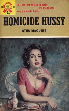 Homicide Hussy, Red Seal Books, 1957