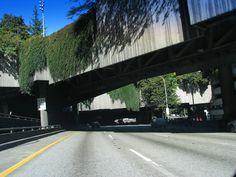 I-5 through downtown Seattle,WA.