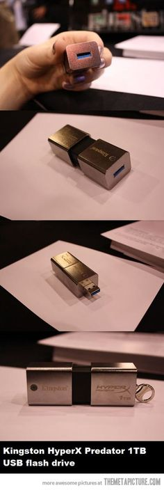 One terabyte USB stick…