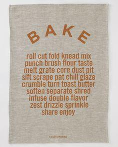 Bake Tea Towels