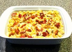 Homemade Macaroni & Cheese with Chicken, Bacon & Ranch