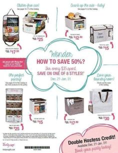 Time to book a party! Great deals, new catalog, and double hostess credit on parties 600+! Contact me to host an online or home party !!! Www.mythirtyone.com/ Candacebrown