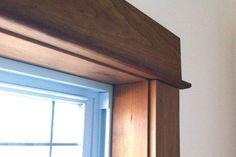 DIY window trim | Window trim project