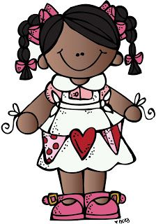 Adorable Valentine's Day free clipart from Melonheadz