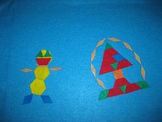 Felt Pattern Blocks Flannel Board (including felt shapes) 2 Sets Pack