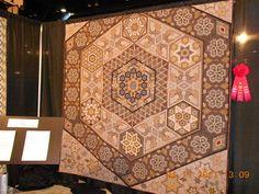english paper, hexagon quilt, hexiesmi happi, hexi quilt, houston, quilts, beauti quilt, bow, hexagons