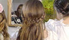 Peinados con trencitas para niñas de Primera Comunión - Especial Primera Comunión - Especiales - Charhadas.com