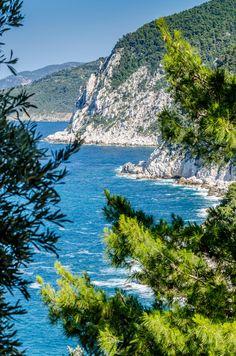 Cliffs of Skopelos - Greece