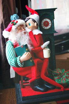 Elf on the Shelf - Too cute!
