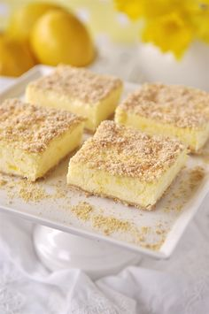 Frozen Lemon Dessert - your homebased mom