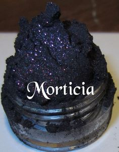 Hey, I found this really awesome Etsy listing at http://www.etsy.com/listing/81997092/morticia-purple-glitter-shimmer-mineral