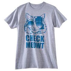 Check Meowt Men's Graphic Tee