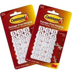 Command Decorating Clips Value Pack, 40-Clip Promotion - http://mydailypromo.com/command-decorating-clips-value-pack-40-clip-promotion.html