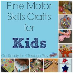 for the classroom I like the making short vowel words activity with muffin tin & tongs Toddler Approved!: Fine Motor Skills Crafts for Kids {Get Ready for K Through Play}