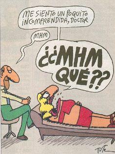 Sentirse incomprendida en el psicologo #Humor #Psicologia