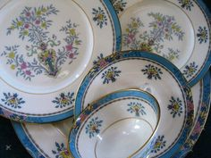 Lenox Blue Tree 5 piece Place Setting Great Lenox by ChinaGalore, $65.00