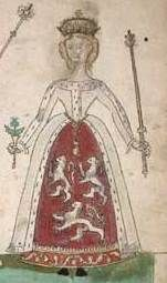 Euphemia de Ross (died 1386) was the second wife and first Queen consort of Robert II of Scotland, and a member of Clan Ross.