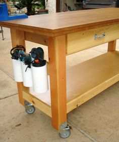 Workshop router tables router jigs etc on pinterest for Ana white router table