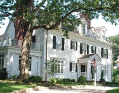 Dutch Colonial Interior Decorating | cottage twin oaks tudor manor house colonial revival dutch colonial ...