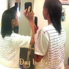 Hairfinity before and after. SHOP HAIR GROWTH VITAMINS http://www.shopbrockbeauty.com/1-month-supply--Hairfinity-Vitamins_p_9.html