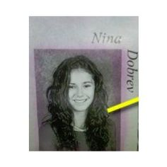High school yearbook | Nina Dobrev | Pinterest