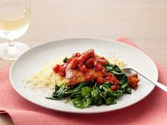 Balsamic chicken and spinach