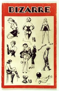 John Willie was a groundbreaking fetish illustrator and photographer who is most known for his artwork in Bizarre magazine during the late 1940's through the late 1950's. This one is my favorite!