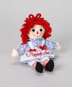 Medium Classic Raggedy Ann #Doll #zulily #toys #kids #holiday #giftideas