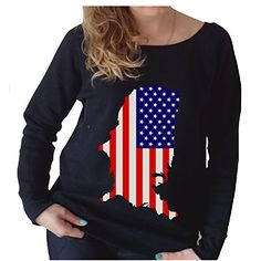 American Flag Wide Neck Sweatshirt Large, Black JITSHIRT #American_Flag  #Jitshirt #Sweatshirt #Wide_neck #Dress #Tshirt #WomenFashion #Christmas #StreetFashion #Fashion #WinterFashion http://www.amazon.com/gp/node/index.html?ie=UTF8&marketplaceID=ATVPDKIKX0DER&me=A149T52BXAFBKH&merchant=A149T52BXAFBKH&redirect=true