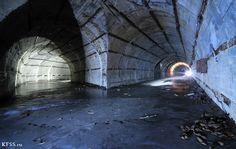 Abandoned Military Underground Bunker | One of famous ex-soviet underground submarine shelters, non ...
