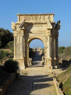 Leptis Magna, al Khoms, Libya