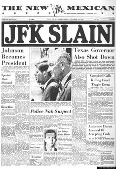 The New Mexican - JFK Assassination