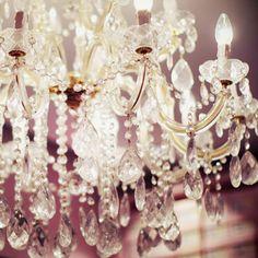 chandeliers..