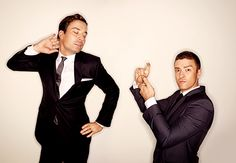 Haha Justin & Jimmy Fallon