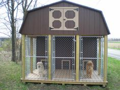 I really like this dog kennel!