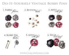 Do-It-Yourself Vintage Bobby Pins