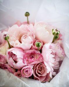 . pink flowers, bridal bouquets, pretti bouquet, pink bouquet, pink peonies, blush
