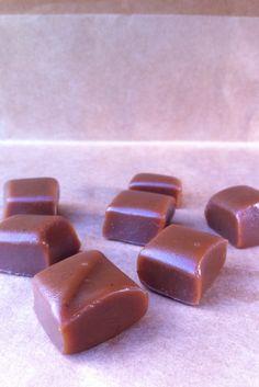 - homemade caramels -