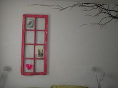 my parents where going to throw this old cellar window out No!!!!!  upcycled using annie sloan paint. love it