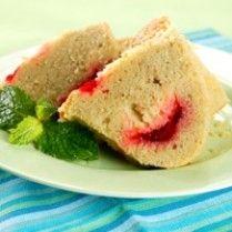 CAKE PISANG KEJU STROBERI http://www.sajiansedap.com/mobile/detail/2618/cake-pisang-keju-stroberi
